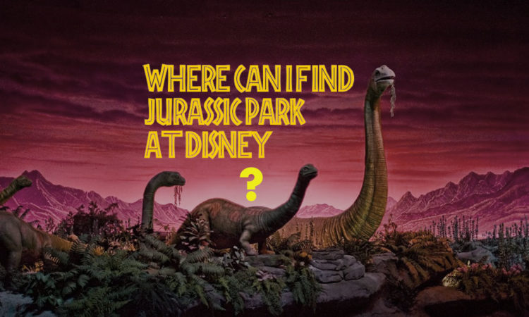 Where can you find the Jurassic Park ride at Disney