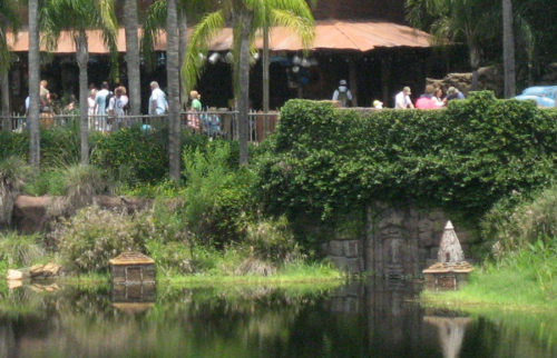 The secret door to Animal Kingdom's lost water temple