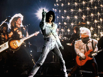 Captain EO joins Howard the Duck