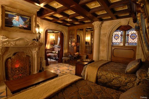 Cinderella Castle Suite is the former home of the Walt Disney World Radio station
