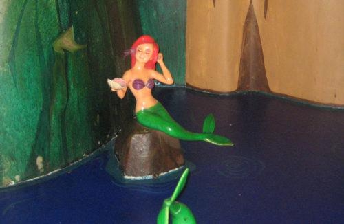 Mermaid in Peter Pan's Flight looks like Ariel.