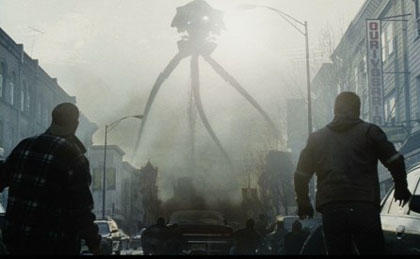 The Tri-pods from Steven Spielberg's War of the Worlds