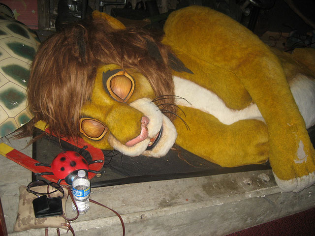Lion King House Of Horrors Parkeology