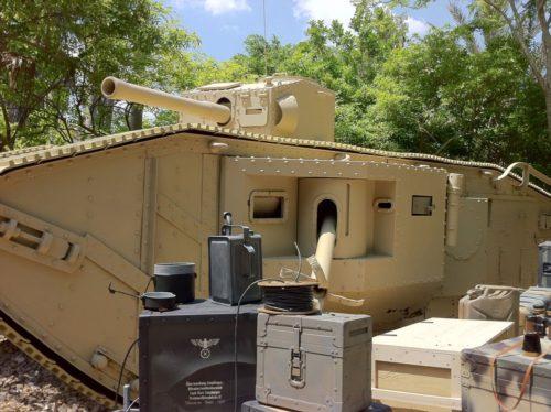 Indiana Jones tank at Disney's Hollywood Studios