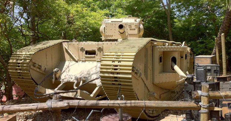 Indiana Jones and the Last crusade Tank in Boneyard
