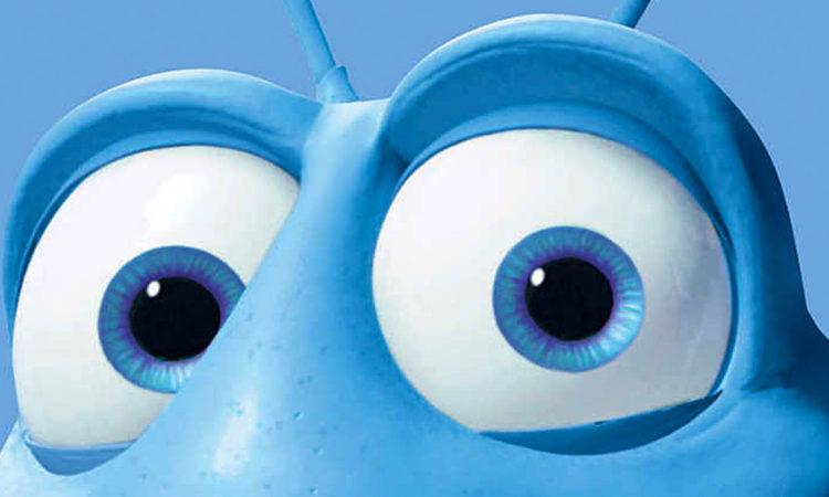 The Pixar Eyes look, as seen in Flik