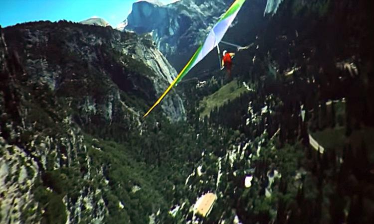 The Soarin' Over California hang glider
