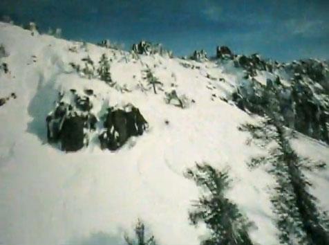 Snowboarders in Soarin'