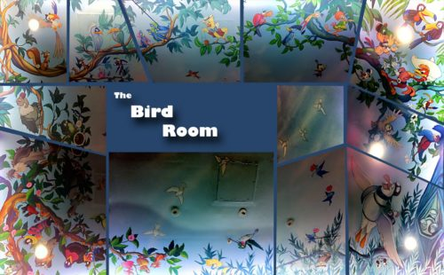 World of Disney bird mural