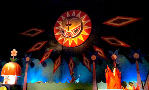 The extraordinary Polynesian sun in It's a Small World