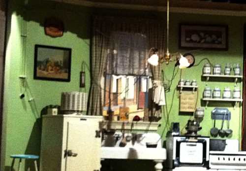 The Carousel of Progress family's overloaded electric kitchen