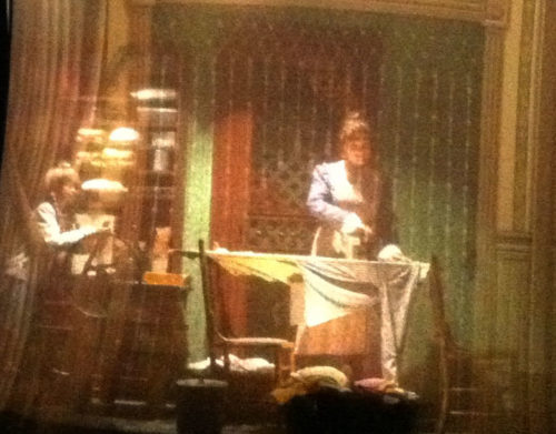 Is this extra daughter in Carousel of Progress a ghost?