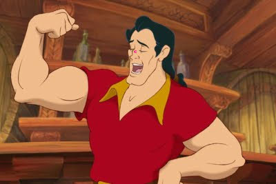 No one's red like Gaston! Acne that spreads like Gaston! Plans to pop all these pus-filled whiteheads like Gaston!