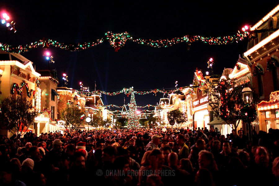 The most magical time of the year... for about 70,000 people at a time.