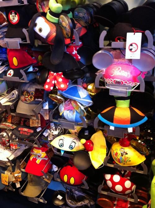 The ear hat niche market fills several shelves