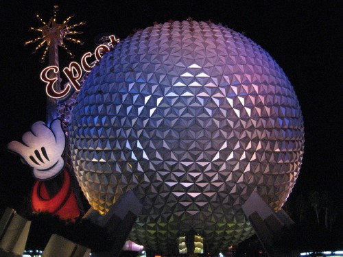 Spaceship Earth with Wand