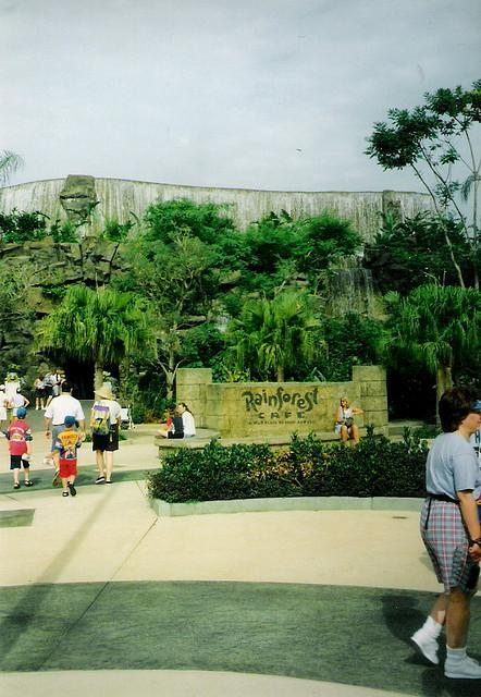 Rainforest Cafe 1998