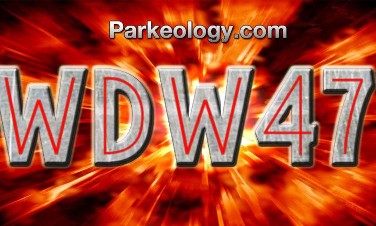 Parkeology WDW47 Challenge Logo