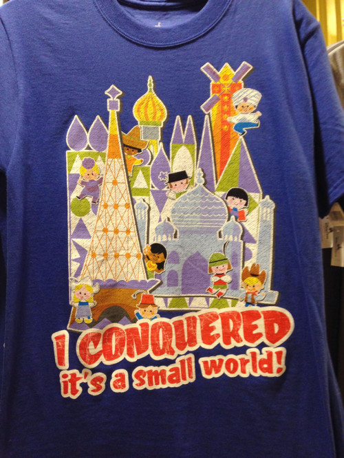 I Conquered It's a Small World