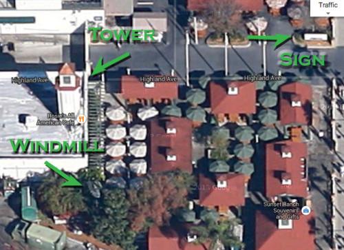 Sunset Ranch Market Satellite Image