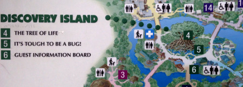 Discover Island Map