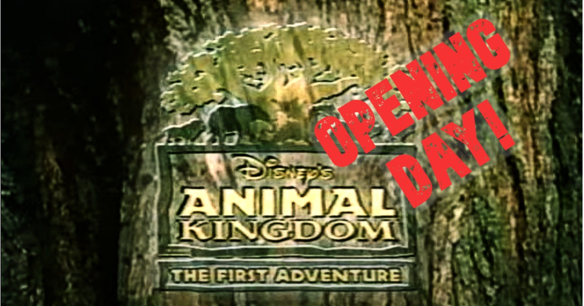 Animal Kingdom Opening Day Attractions