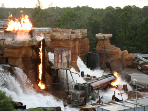 Catastrophe Canyon, one of the Disney MGM Studios Opening Day attractions