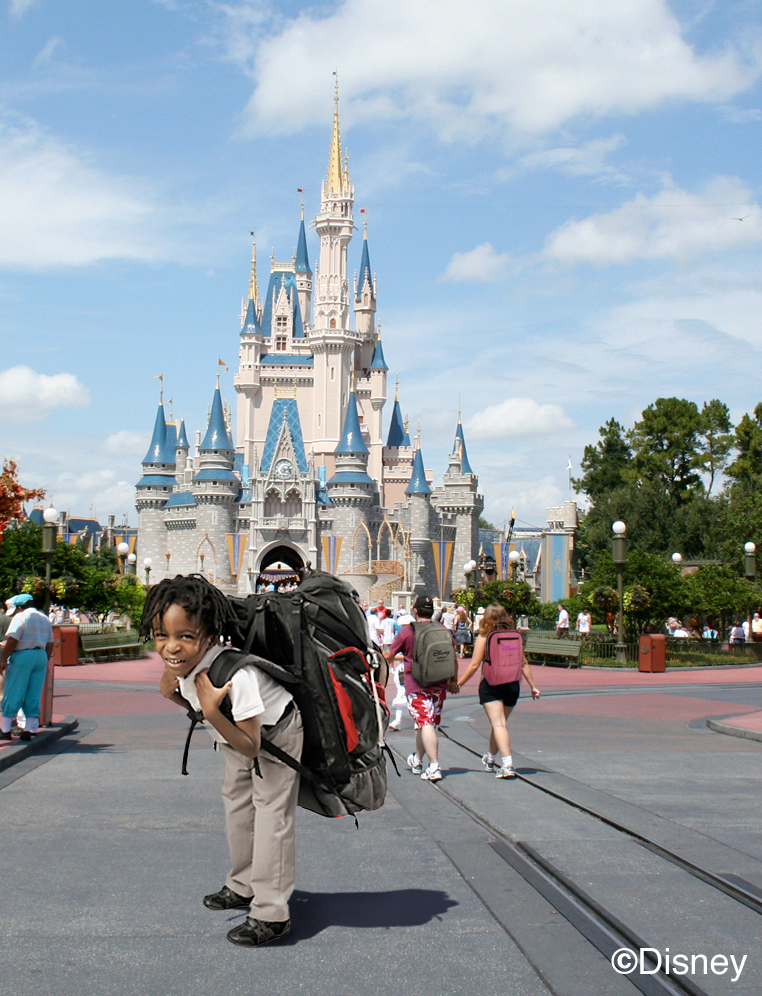 magic kingdom Backpack 2