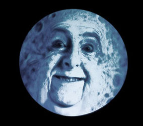 Everyone knows the moon is made of Eric Idle.