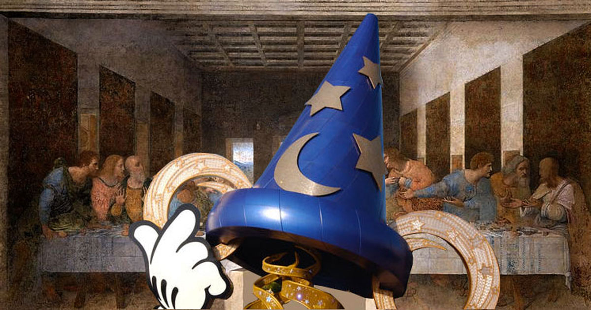 Mickey's Sorcerer's Hat at Disney's Hollywood Studios Hides Priceless Work of Art