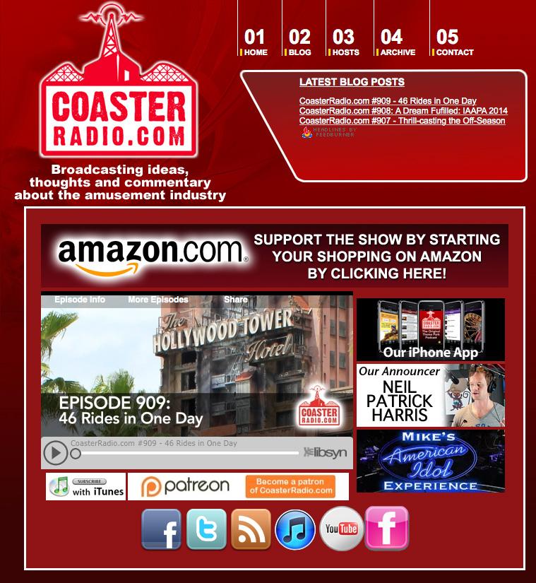 Coaster-Radio