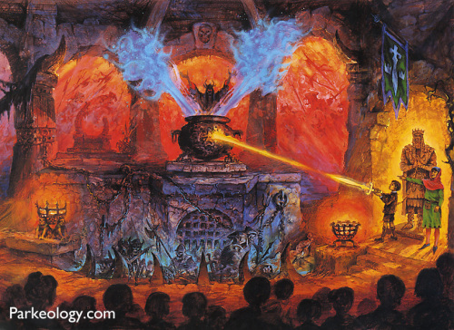 If I could go back in time and experience any lost Disney attraction on the planet...