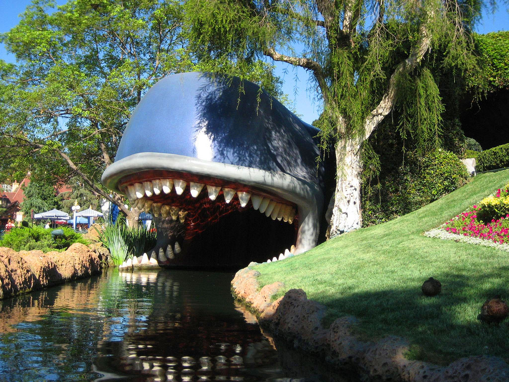 Monstro the Whale at Storybookland