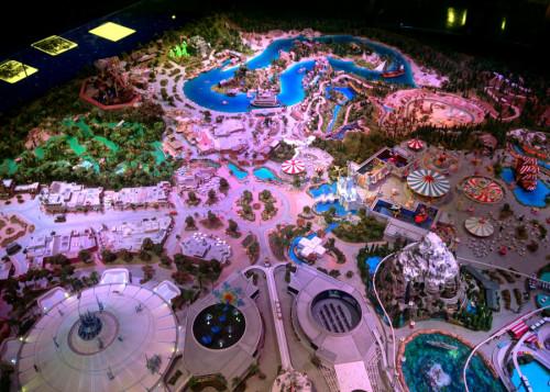 Walt Disney Family Museum Disneyland Model