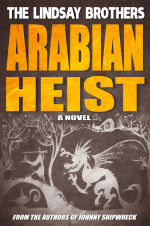 Arabian Heist Book Cover