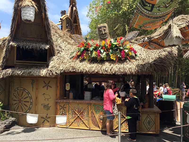 Secret Dole Whip line bypasses the masses at Tiki Juice Bar Disneyland Secret Luxuries