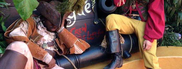 Pirates in Adventureland