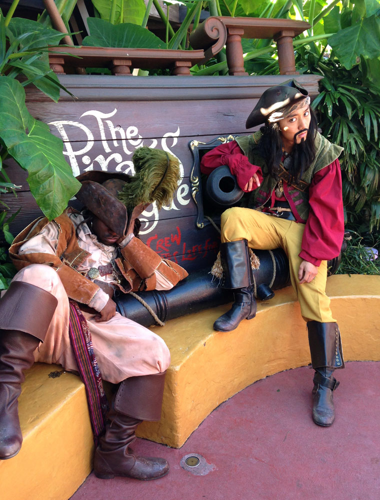 Pirates in Adventureland