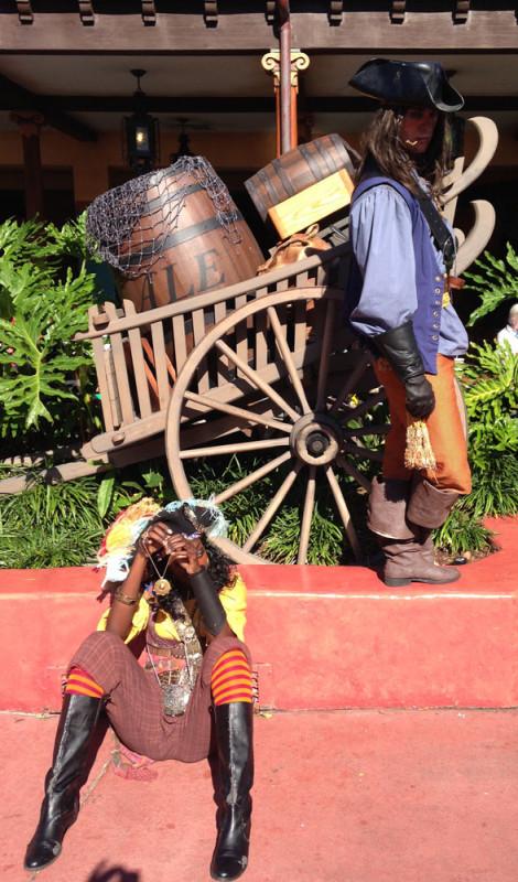 Pirates at Tortuga Tavern