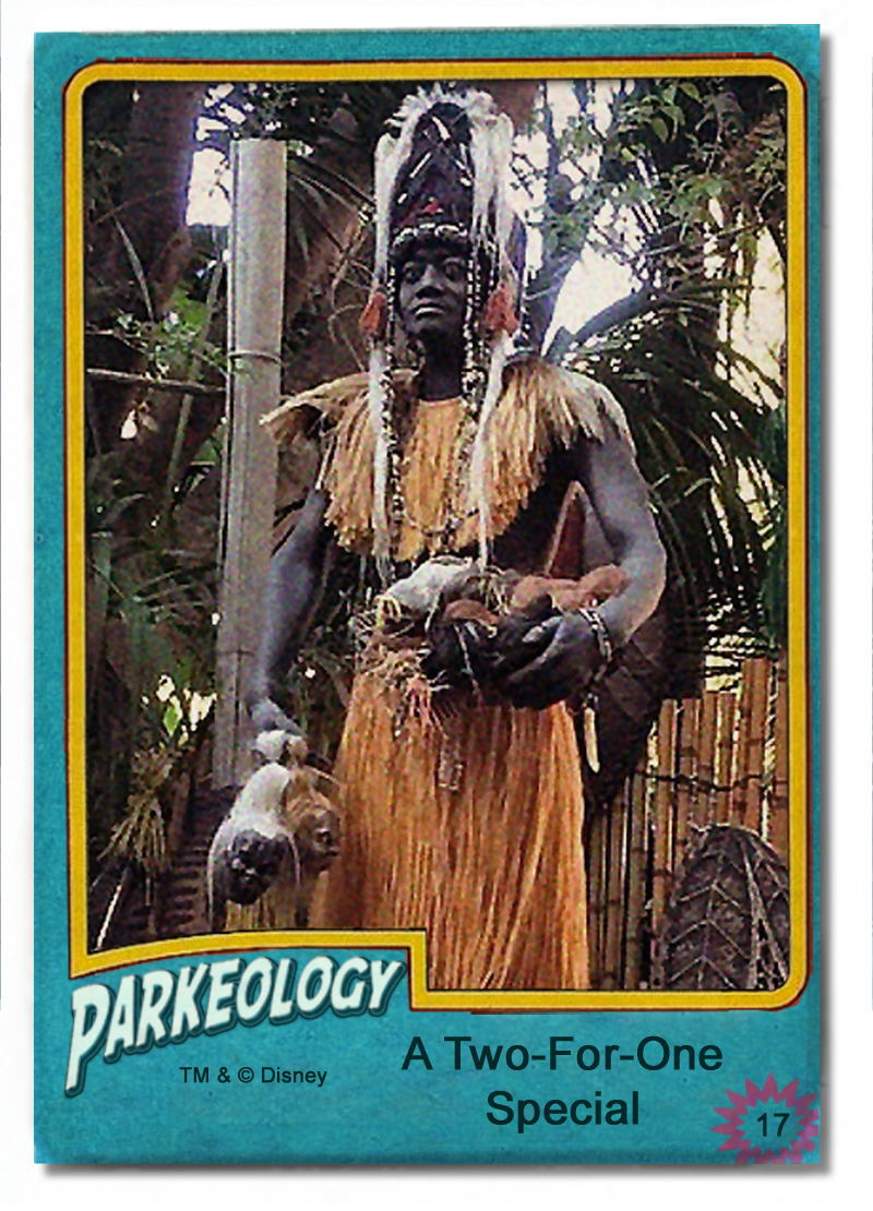 50 greatest park characters trading cards Trader Sam