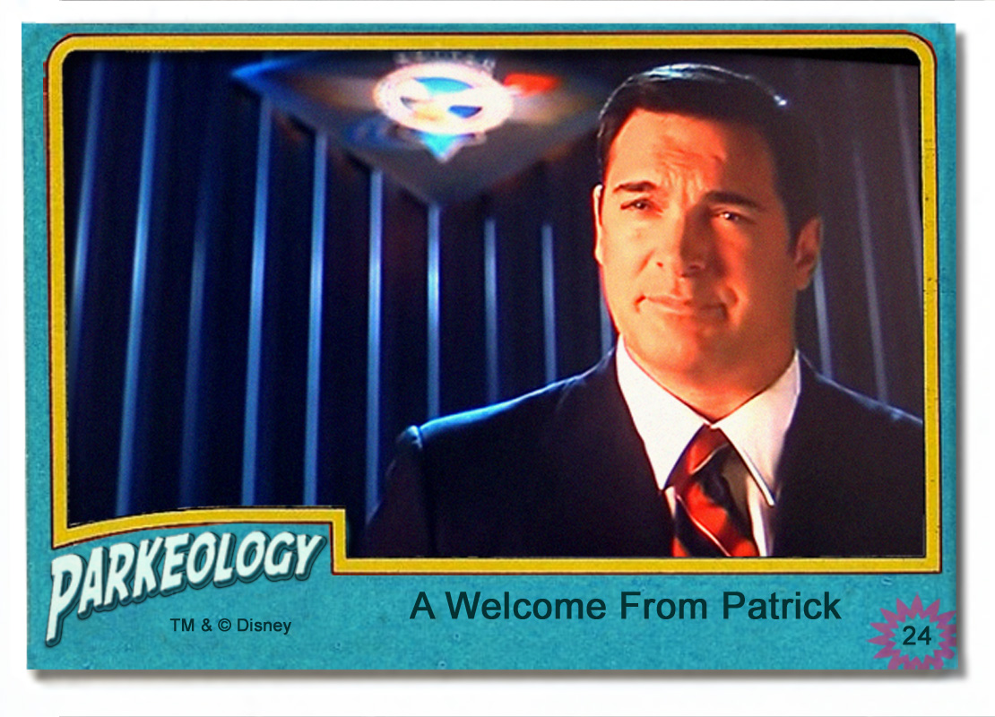 Parkeology vintage theme park trading cards Patrick