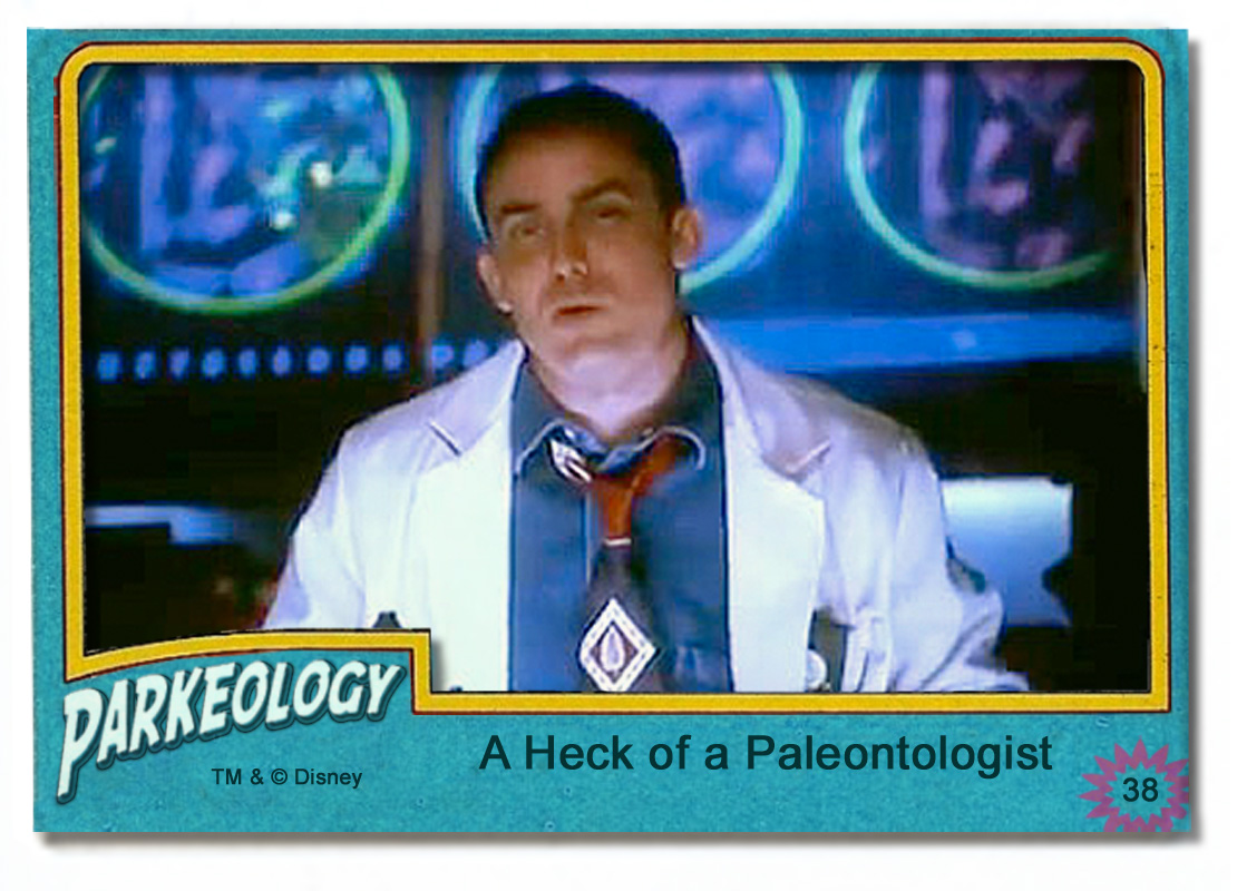 50 greatest park characters trading cards Dr Grant Seeker