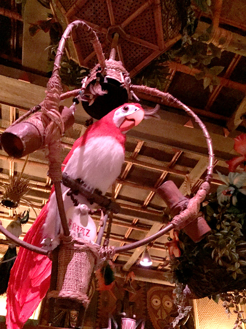 Indoor photography allowed at DIsneyland Tiki Room Disneyland Secret Luxuries