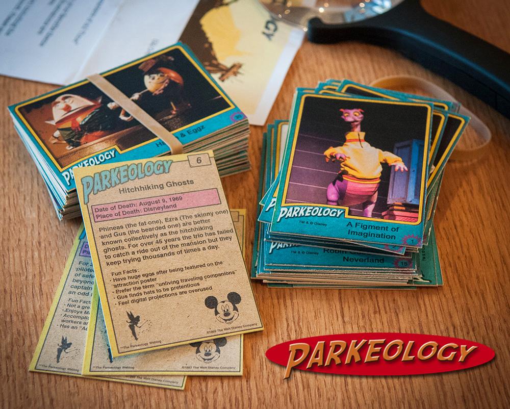 Parkeology-vintage theme park trading cards