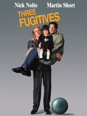 Martin Short and Nick Nolte in The Three Fugitives