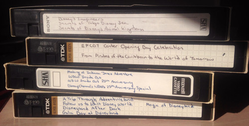 I don't think I own a working VCR, but I still own these tapes.