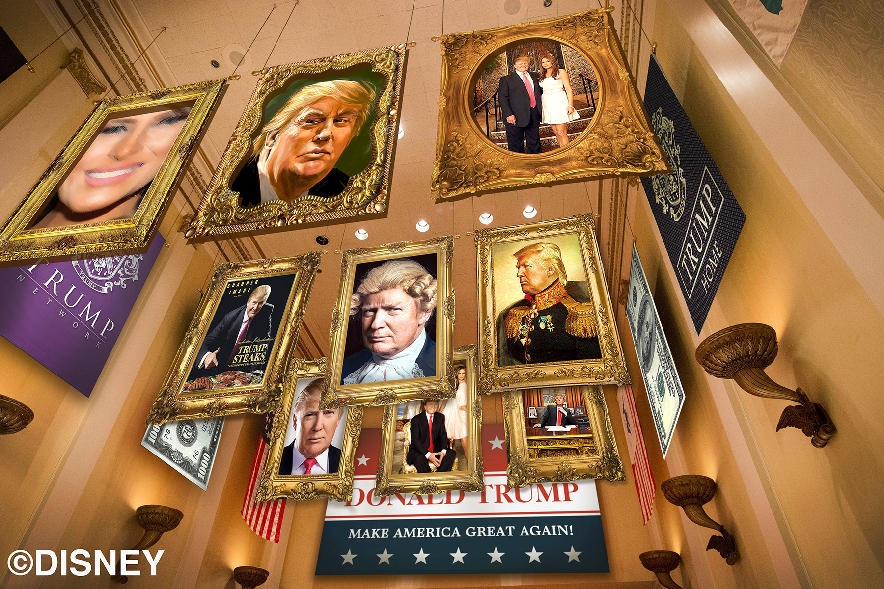 Hall-of-Trump Disney