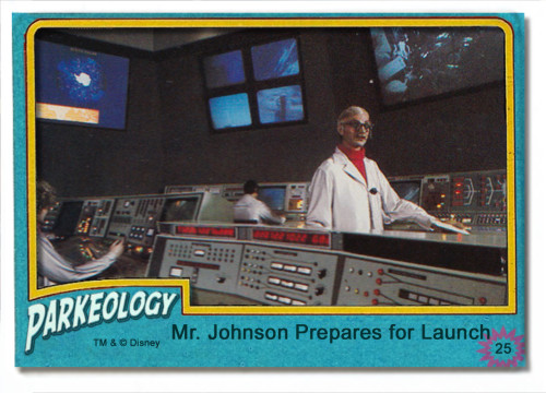 Mr. Johnson from Mission to Mars Trading Card
