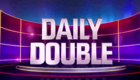 Jeopardy Daily Double on Ellen's Energy Adventure
