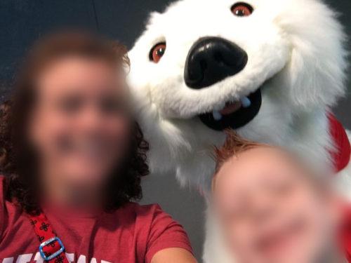 An innocent selfie gone horribly wrong.